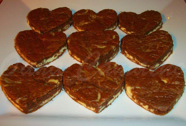 Cooking with love !: CHEESECAKE BROWNIE ( NEGRESA CU BRANZA )