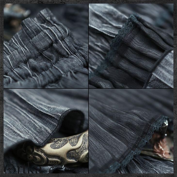 Длинная многослойная юбка в стиле бохо комбинированной расцветки с воланами, 43828397358 купить за 13500 руб. с доставкой по России, Украине, Беларуси и миру   Artka: интернет-магазин обуви и одежды Artka