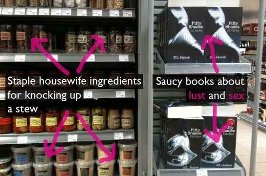 50 Shades of Waitrose Cashing In - just what is it about Waitrose and 50 Shades of Grey?