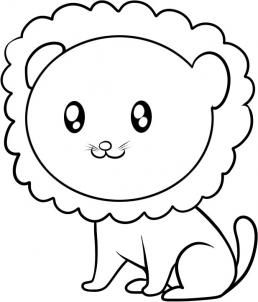 how to draw a lion for kids step 7 party ideas pinterest - Easy Drawing Pictures For Kids