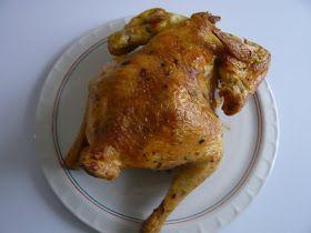 Pollo asado en horno de convección      Tenia ganas de probar el pollo en el horno de convección y ha sido un exitazo, la verdad que es fac...