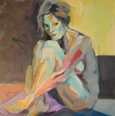 FINEARTSEEN - Discover where artist Kim McAninch gets her inspiration from and the story behind her success as an international painter in our exclusive Artist Interview. << Pin For Later >>