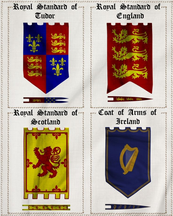 Merlin's Medieval Banners Props/Scenes/Architecture Themed