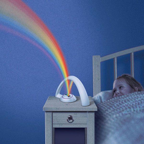 Ночник проектор светодиодный Радуга - любимый ночник для детей. Два режима не оставят равнодушными детей и взрослых. Плавное переключение цветов или включение всех цветов радуги. Спокойные не яркие цвета создадут приятную романтичную атмосферу в доме http://zacaz.ru/products/dom-byt-kuhnya/uyut-doma/nochnik-proektor-svetodiodnyj-raduga/