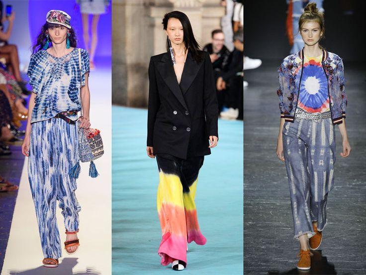Marcas como Off-White apostaron por esta tendencia y se ha convertido en una de las favoritas de Gigi Hadid. ¡Que viva el tie-dye!