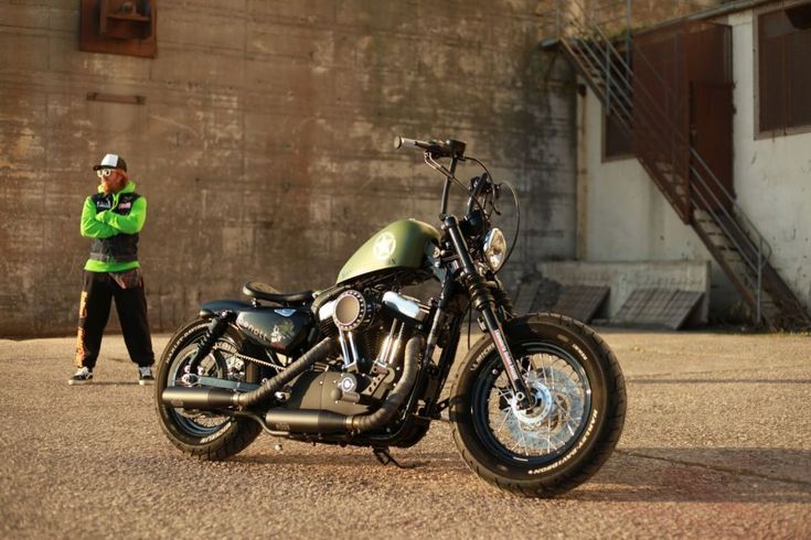 harley davidson forty eight 48 custombike by ben ott. Black Bedroom Furniture Sets. Home Design Ideas