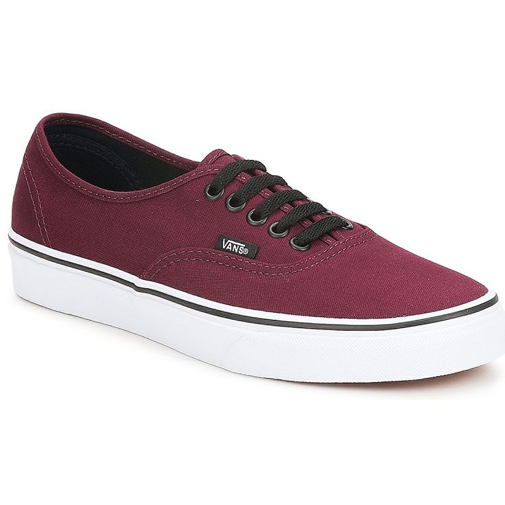 vans authentic bordeaux chaussures pinterest chaussure chaussure vans femme et vans femme. Black Bedroom Furniture Sets. Home Design Ideas