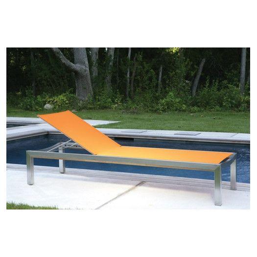 kingsley bate tiburon adjustable chaise lounge allmodern pool