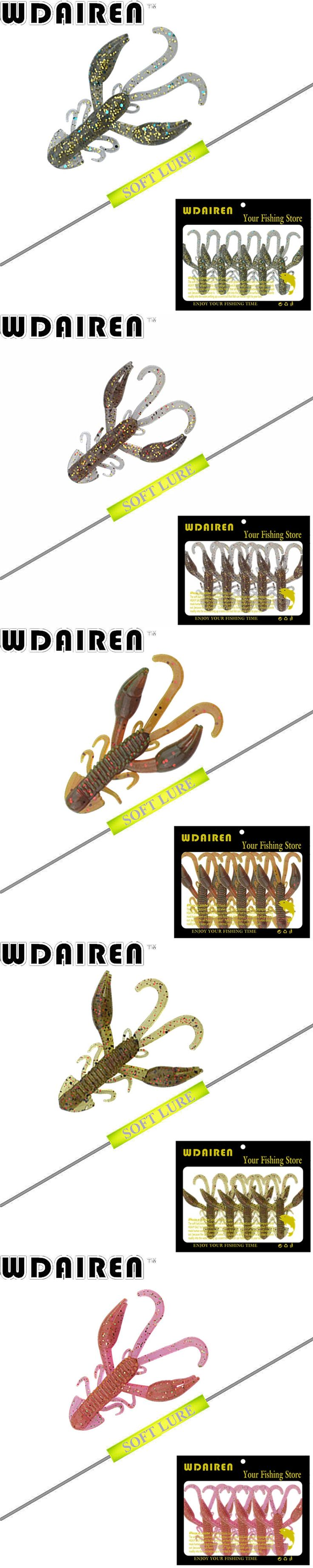 5pcs / lot Soft Silicone Artificial Soft Bait 50mm 2.2g Fishing Lure soft with salt smell Swim Bait Fishing Worm Lure FA-343