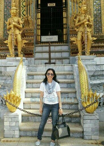 Ace goes to Bangkok! At Grand Palace, Bangkok