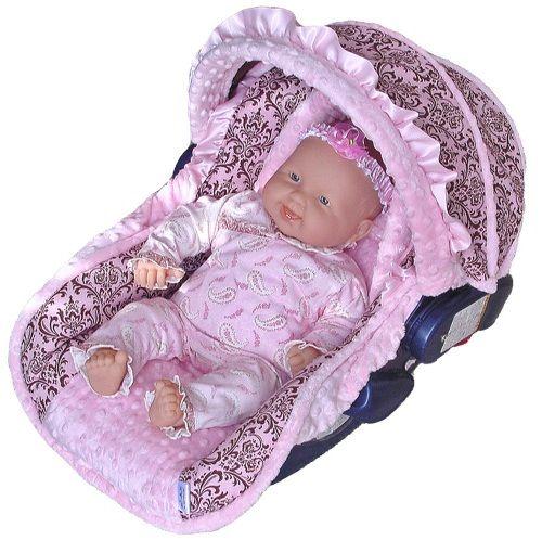 Baby doll car seat!