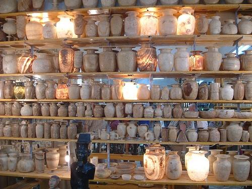 white egyptian alabaster: White Egyptian, Amber Styles, Creative Spaces, Egyptian Alabast, Holidays Shops
