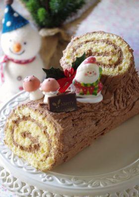 「初心者にも!簡単ブッシュ・ド・ノエル」handmadecafe | お菓子・パンのレシピや作り方【corecle*コレクル】