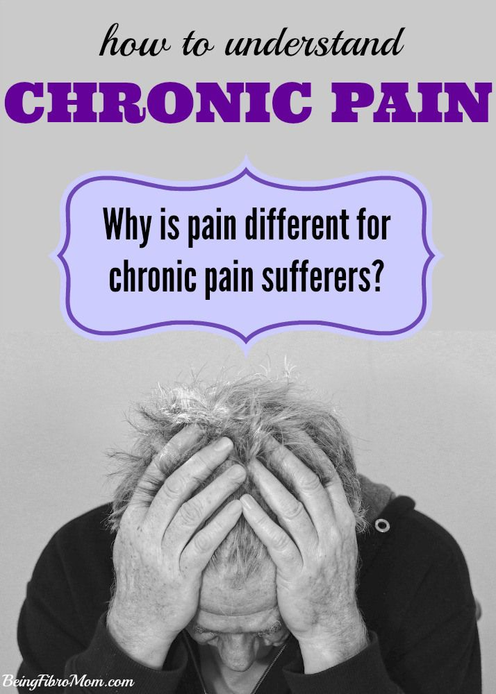 how to understand chronic pain and why pain is different for chronic pain sufferers #chronicpain #fibromyalgia  http://www.beingfibromom.com/how-to-understand-chronic-pain/