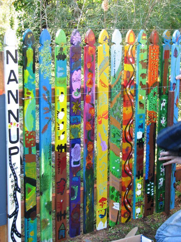 NAC Inc. 'Picket Fence' Art Installation! | Nannup Arts Council Inc. nannupartscouncil.com