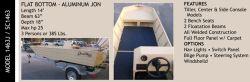 New 2013 - Grayman Boats - 1463J