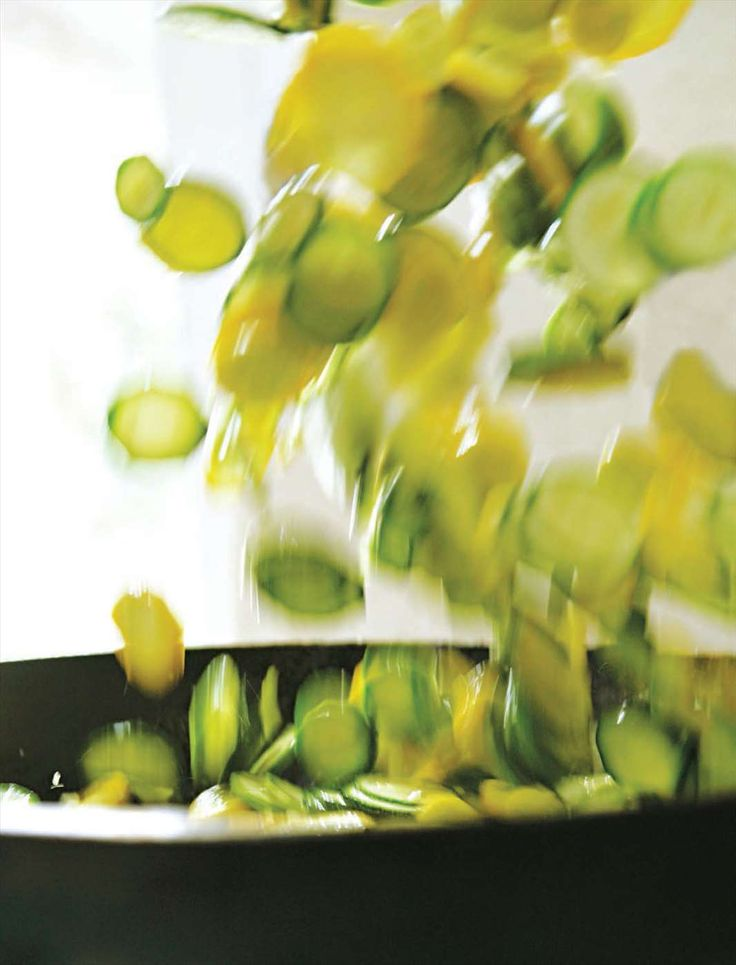 Lemony courgettes on toast from Hugh Fearnley-Whittingstall from River Cottage Every Day. Find it on Cooked.com