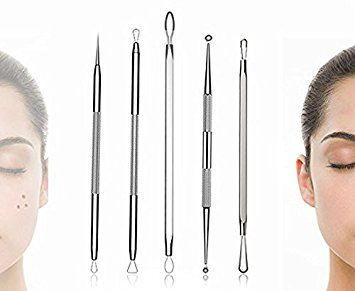 Amazon.com : BESTOPE Blackhead Remover Pimple Comedone Extractor Tool Best Acne Removal Kit - Treatment for Blemish, Whitehead Popping, Zit Removing for Risk Free Nose Face Skin with Metal Case : Health & Personal Care