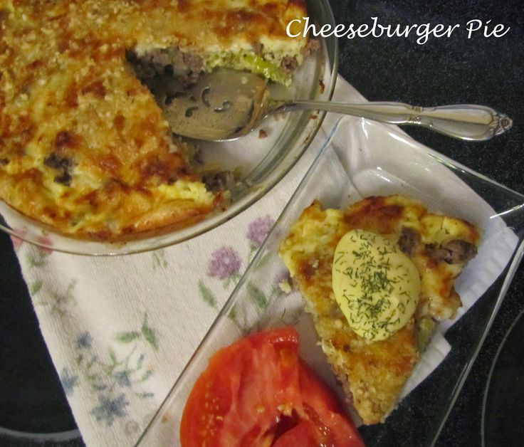 The Super Duet and Their Kitchen: Cheeseburger Pie