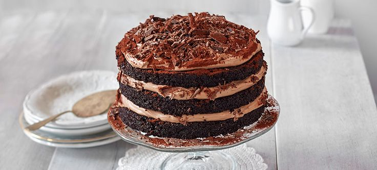 Paras suklaakakku syntyy tietysti Fazerin Sininen -suklaasta.