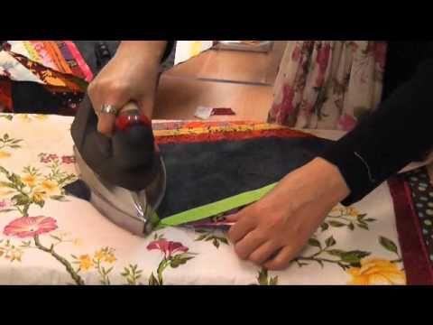 Este video tutorial tiene como objetivo, reciclar restos de telas para confeccionar una colcha.