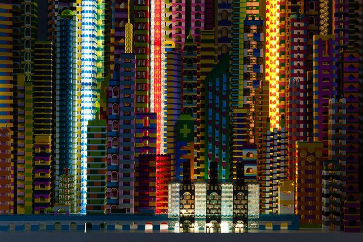 laird kayのレゴシティが批評する人工建造物の近代巨大都市とは TOKYO DESIGN WEEK 東京デザインウィーク