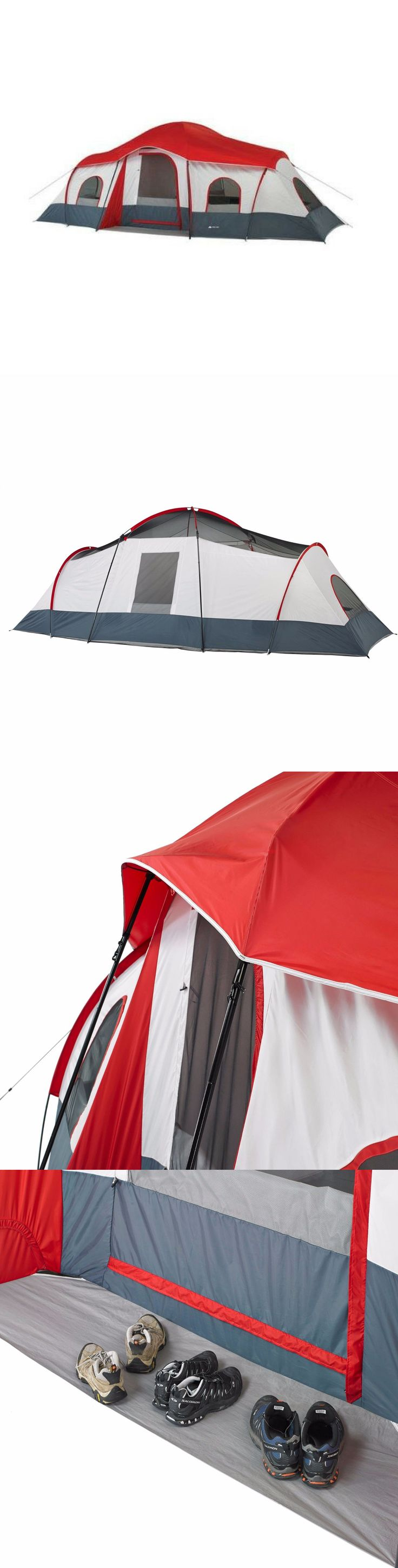 Canopies and Shelters 179011: Ozark Trail 3 Room 10 Person Family Instant Cabin Tent Outdoor Camping Hiking -> BUY IT NOW ONLY: $117.11 on eBay!