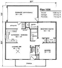 1271 best House plans images on Pinterest   House floor plans ...