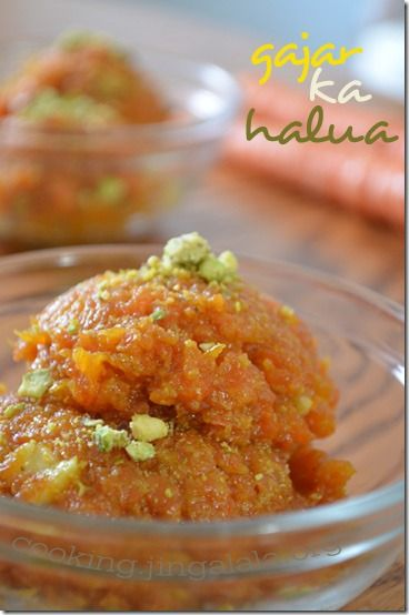 Gajar-ka-halwa recipe - my man's favorite sweet from back home. So delicious and sweet! Made this 3 times, once was a flop. Never substitute real milk for almond haha.