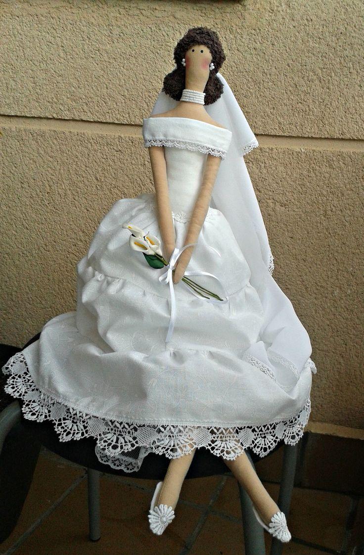 Tilda bride wedding  #tilda #bride #wedding