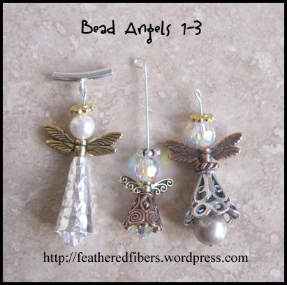 Angel Bead Tutorial.                                     Tutorial has a couple of different Angels to make