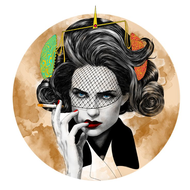 Mustafa Soydan Zodiac Illustrations For Trendland | Trendland: Fashion Blog & Trend Magazine