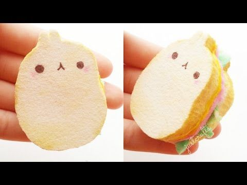 17 Best images about Squishy Toys & DIY Tutorials on Pinterest Miniature, Homemade and Stress ball