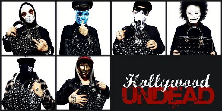 Hollywood Undead! they are fucking amazing and crazy