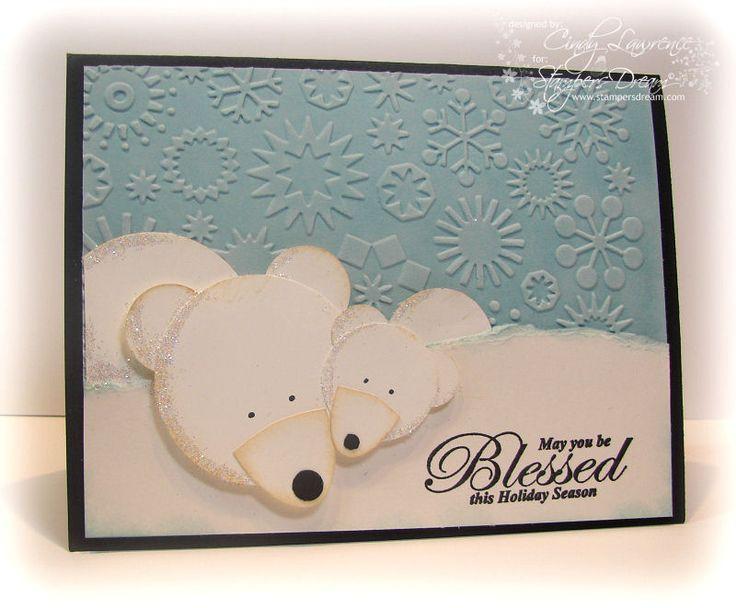 Cute polar bear card