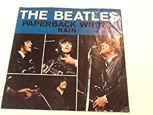 BEATLES--Paperback Writer/Rain 45rpm