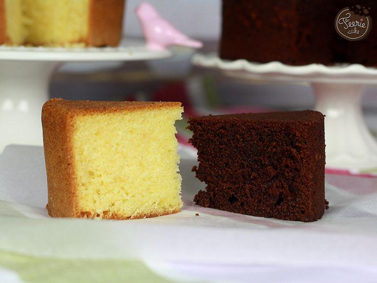 Vanille ou chocolat, vous avez le choix. Voici notre recette pour un sponge cake parfait à utiliser pour vos projets de cake design.