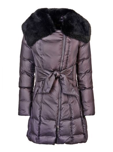 Marciano long padded Coat with zip