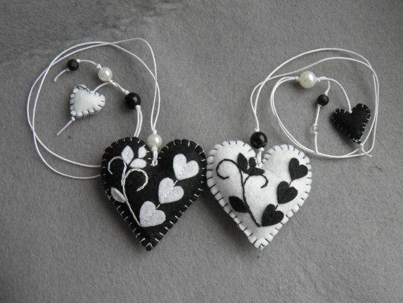 décor de la Saint-Valentin se sentait le cœur noir ou par Marywool