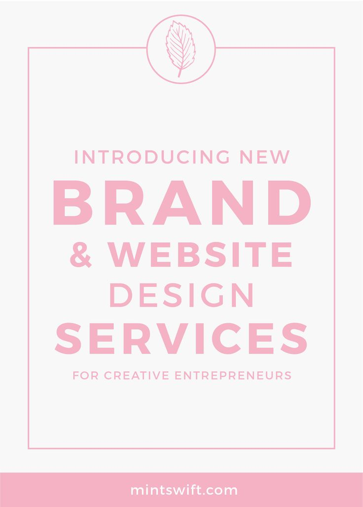 Since the beginning of this year, I was working really hard behind the scenes on my new brand & website design services which I want to introduce to you today. In January, I sent out the survey to my email list and for the past year, I've been researching and observe my audience and it all helped me craft services which cover all of creative entrepreneur's design needs.