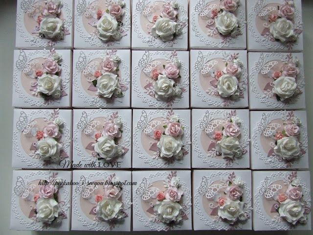 invitations boxes for girl