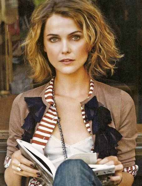 Kerri Russell  mid length bobHair Ideas, Mid Length, Wavy Bobs, Shorts Hair, Messy Bob, Hair Cut, Keri Russell Hair, Kerry Russell, Hair Style