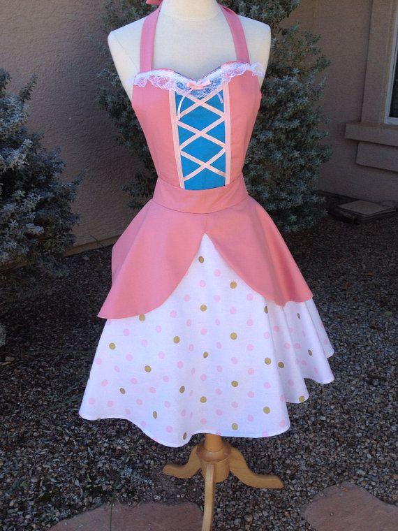 Toy Story Bo Peep  apron dress