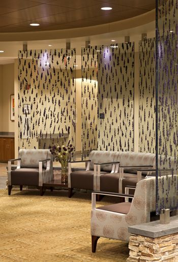 Waiting Area at Capital Health Center for Oncology. Welcoming waiting room.