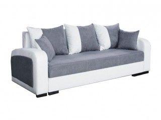 Zuzana bonellrugós, kinyitható, ágyneműtartós kanapé