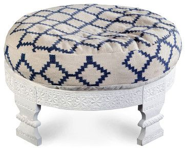 Serenity Ottoman - transitional - Ottomans And Cubes - Bliss Home & Design