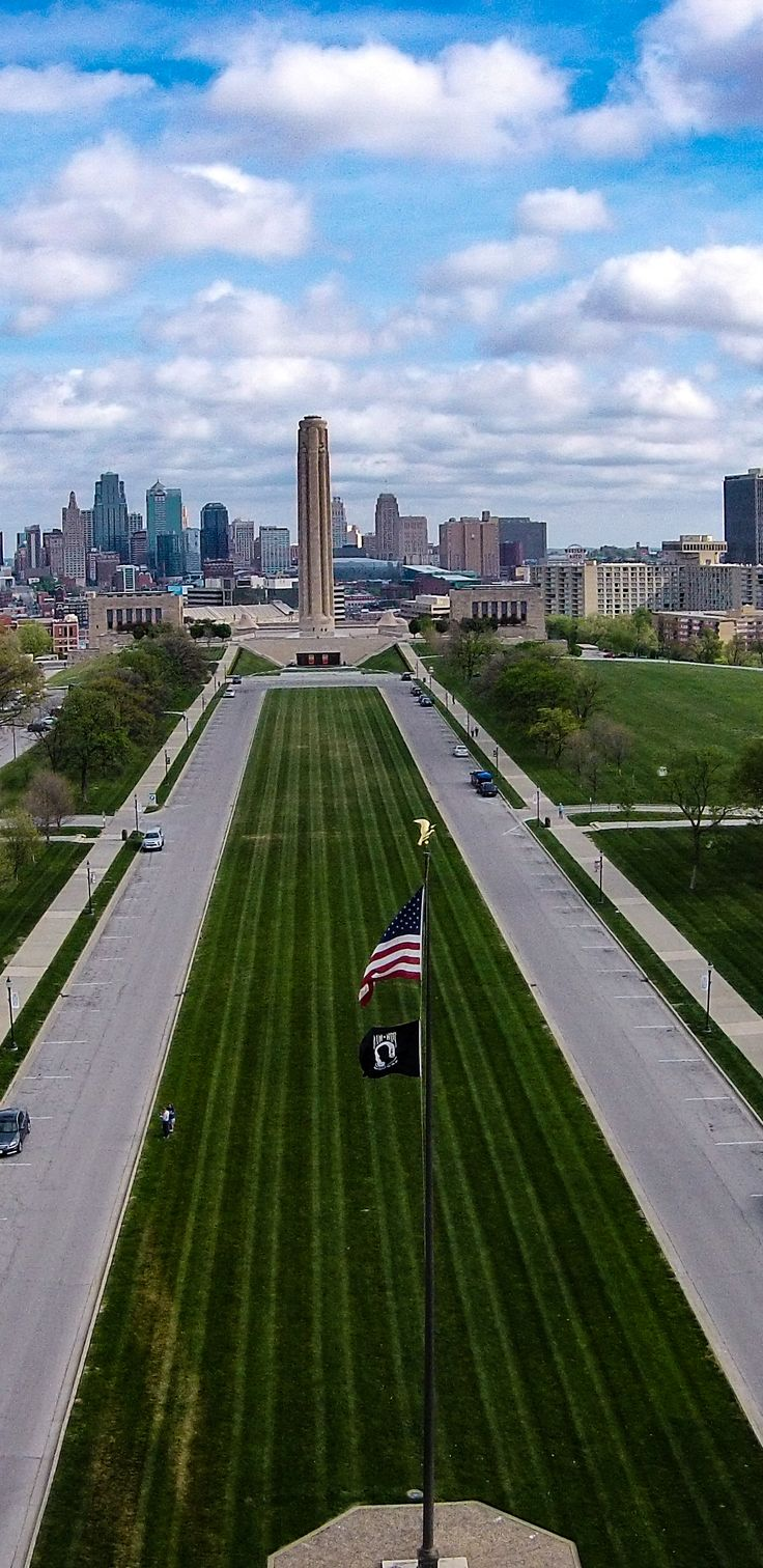 Liberty Memorial Kansas City Missouri   ♥ Repinned by Annie @ www.perfectpostage.com