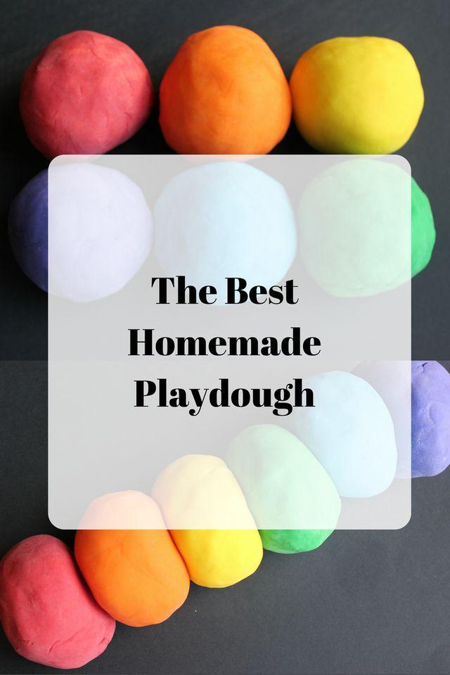 The Best Homemade Playdough!