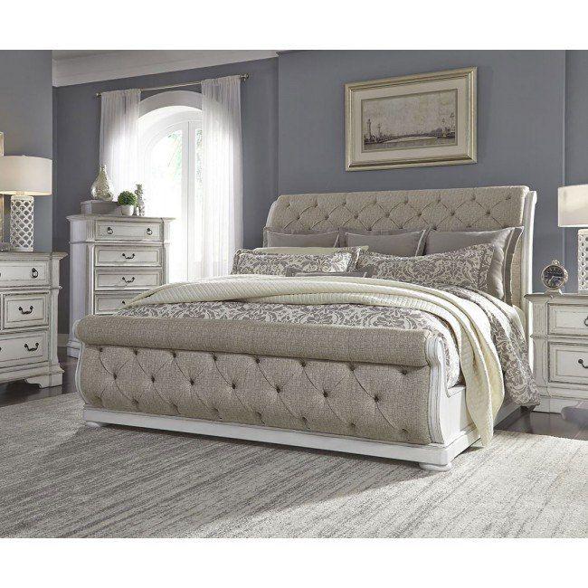 Abbey Park Upholstered Sleigh Bedroom Set En 2020 Recamara