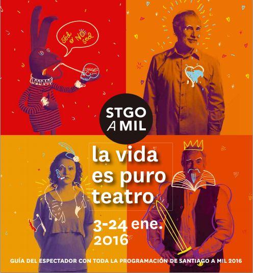 Afiche Santiago a Mil 2016 - Buscar con Google